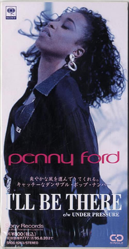 "Penny Ford I'll Be There 3"" CD single (CD3) Japanese PF8C3IL629220"
