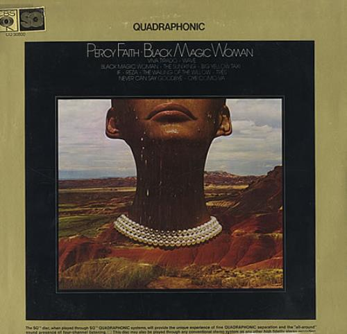 Percy Faith (Soul) Black Magic Woman - Quadraphonic vinyl LP album (LP record) US 2PFLPBL368036