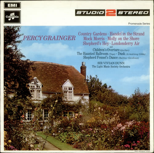 Percy Grainger Country Gardens, Handel in the Strand, Mock Morris, etc... vinyl LP album (LP record) UK PJWLPCO536834