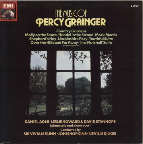 Percy Grainger The Music Of Percy Grainger 2-LP vinyl record set (Double Album) UK PJW2LTH764797