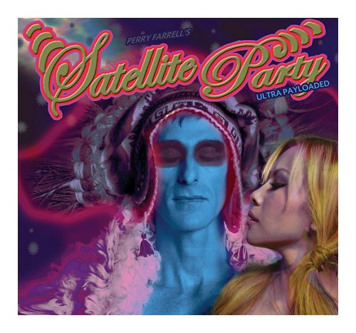 Perry Farrell's Satellite Party Ultra Payloaded CD album (CDLP) UK SPVCDUL400712