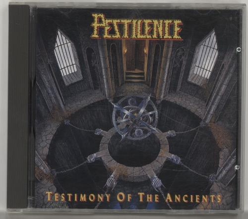 Pestilence Testimony Of The Ancients CD album (CDLP) Dutch P45CDTE700849