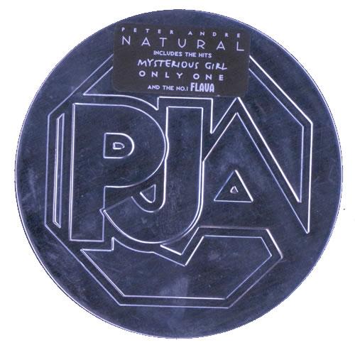 Peter Andre Natural - Tin CD album (CDLP) UK PTACDNA516102