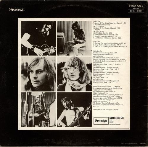 Peter Banks Peter Banks - Autographed vinyl LP album (LP record) UK PBKLPPE705619