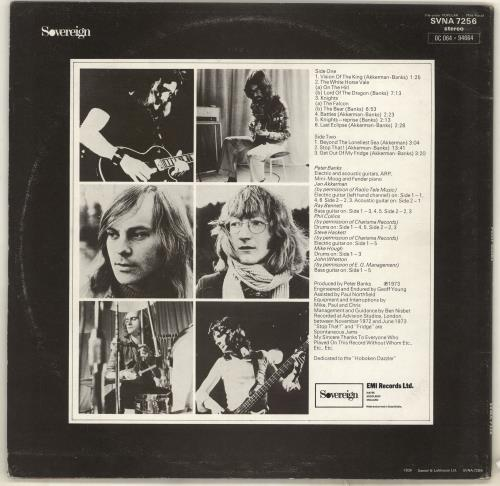 Peter Banks Peter Banks - VG/EX vinyl LP album (LP record) UK PBKLPPE719491