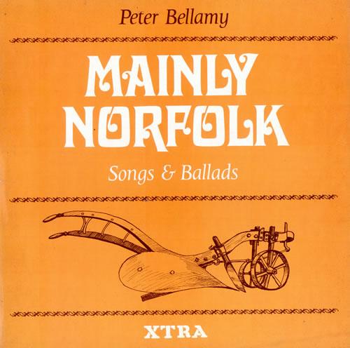 Peter Bellamy Mainly Norfolk vinyl LP album (LP record) UK 3PBLPMA475814