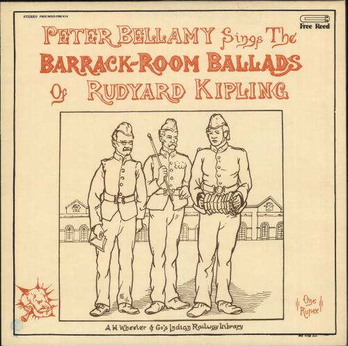 Peter Bellamy Sings The Barrack-Room Ballad of Rudyard Kipling vinyl LP album (LP record) UK 3PBLPSI717578