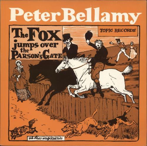 Peter Bellamy The Fox Jumps Over The Parson's Gate vinyl LP album (LP record) UK 3PBLPTH717573