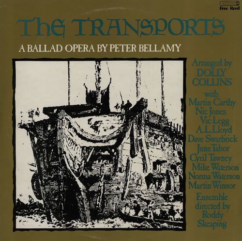 Peter Bellamy The Transports + Poster 2-LP vinyl record set (Double Album) UK 3PB2LTH567758