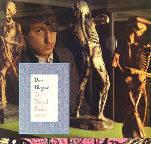 Peter Blegvad The Naked Shakespeare vinyl LP album (LP record) UK PGVLPTH558762