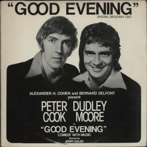 Peter Cook & Dudley Moore Good Evening vinyl LP album (LP record) US P&DLPGO439803