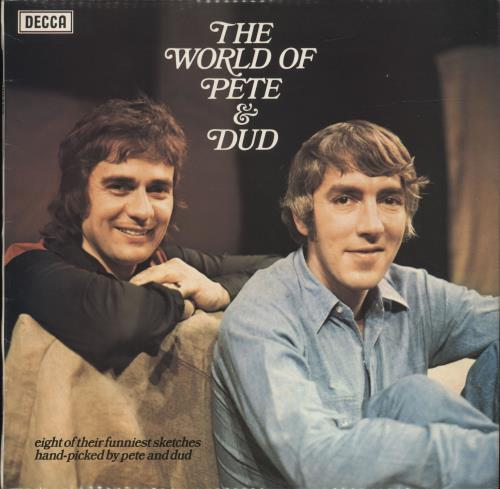 Peter Cook & Dudley Moore The World Of Pete & Dud vinyl LP album (LP record) UK P&DLPTH457223