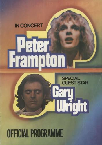 Peter Frampton In Concert tour programme UK PFRTRIN345739
