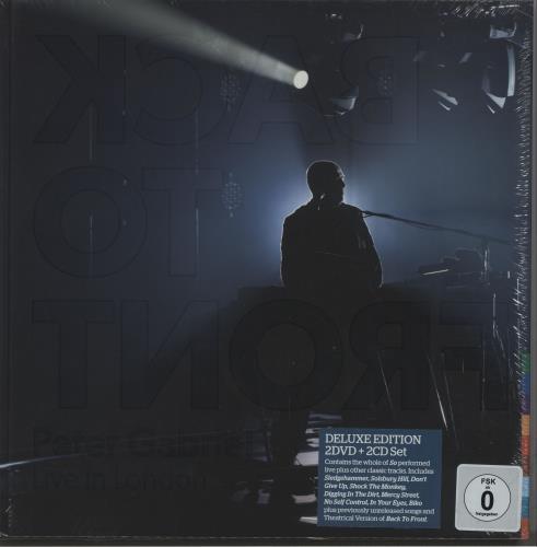 Peter Gabriel Back To Front - Deluxe Edition CD Album Box Set UK GABDXBA672832