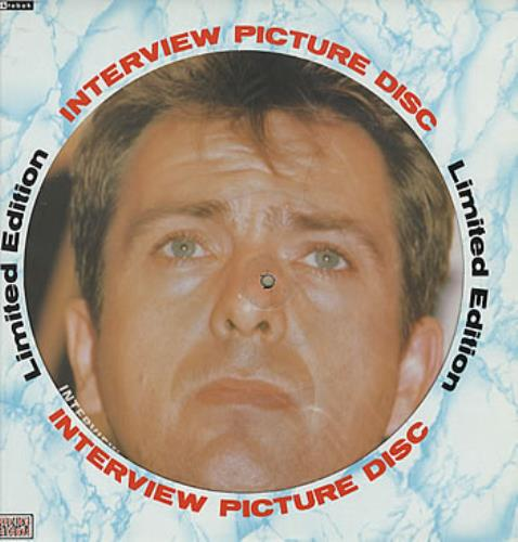 Peter Gabriel Interview Picture Disc picture disc LP (vinyl picture disc album) UK GABPDIN308864