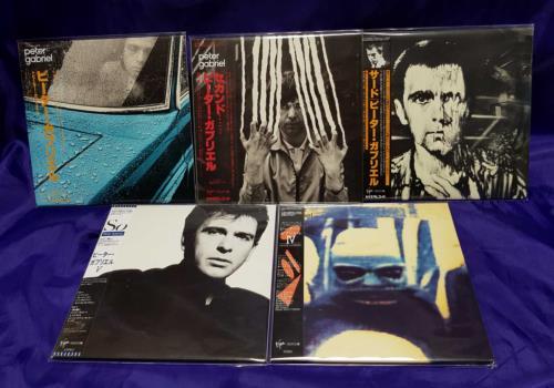 Peter Gabriel Paper Sleeve Collection - 5 CDs & Box CD Album Box Set Japanese GABDXPA715031