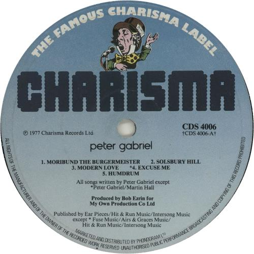 Peter Gabriel Peter Gabriel vinyl LP album (LP record) UK GABLPPE608231