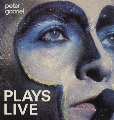Peter Gabriel Plays Live - EX 2-LP vinyl record set (Double Album) UK GAB2LPL391518