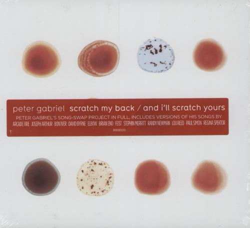 Peter Gabriel Scratch My Back/And I'll Scratch Yours 2 CD album set (Double CD) UK GAB2CSC750894