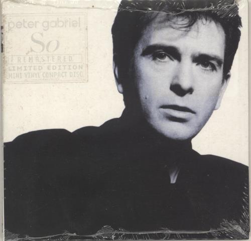 Peter Gabriel So - Sealed CD album (CDLP) UK GABCDSO215767