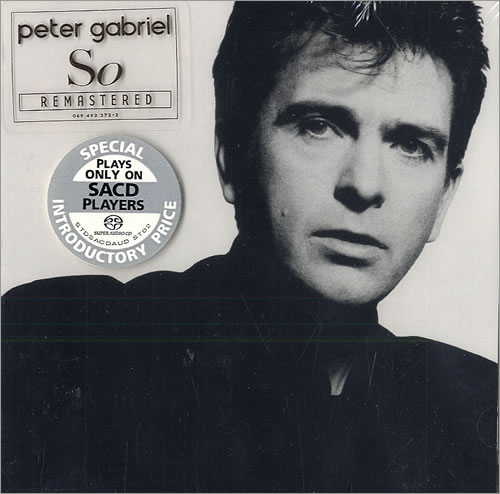 Peter Gabriel So - Sealed US super audio CD SACD (485753)