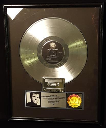 Peter Gabriel So award disc US GABAWSO170537