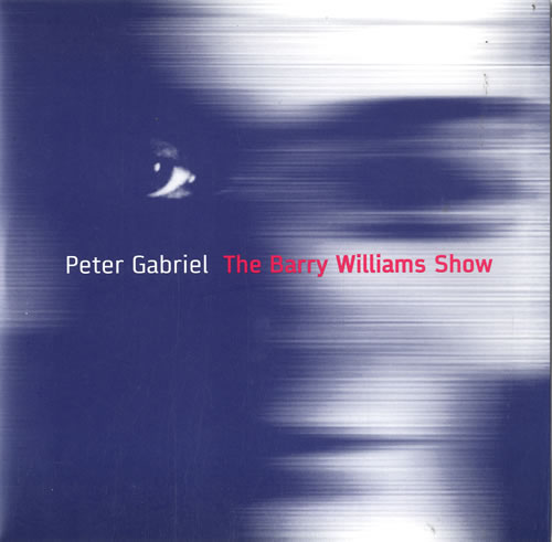 """Peter Gabriel The Barry Williams Show 7"""" vinyl single (7 inch record) US GAB07TH603300"""