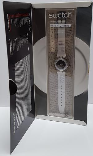 Peter Gabriel Time To Cook - Swatch Watch memorabilia UK GABMMTI656622