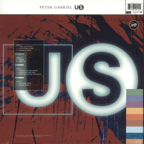 Peter Gabriel Us - 180gm - Sealed 2-LP vinyl record set (Double Album) UK GAB2LUS718935