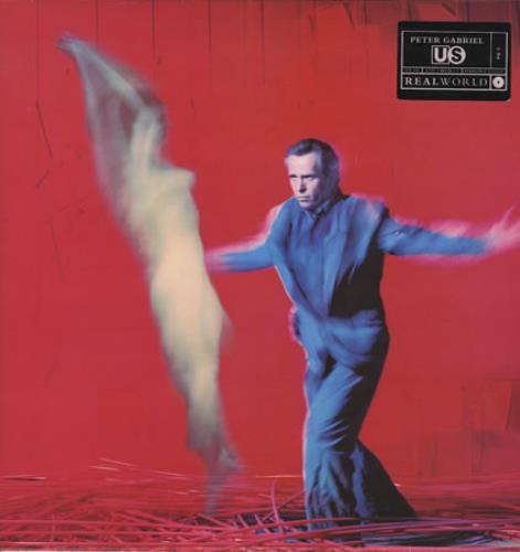 Peter Gabriel Us 2-LP vinyl record set (Double Album) UK GAB2LUS208496