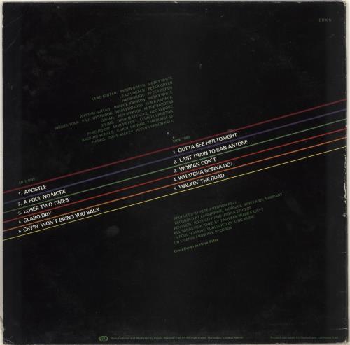 Peter Green Blue Guitar vinyl LP album (LP record) UK PGRLPBL713685