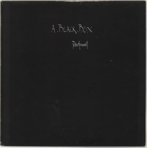 Peter Hammill A Black Box vinyl LP album (LP record) UK HMLLPAB702347