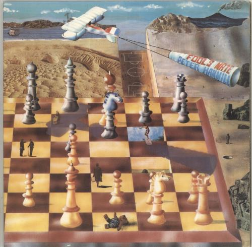Peter Hammill Fool's Mate - 1st vinyl LP album (LP record) UK HMLLPFO542156