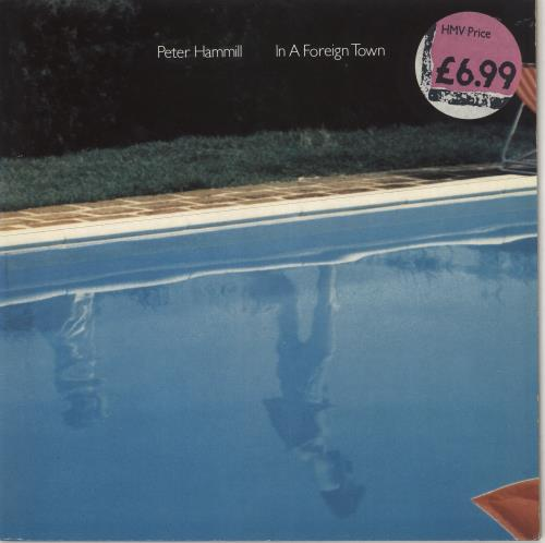 Peter Hammill In A Foreign Town vinyl LP album (LP record) UK HMLLPIN472460