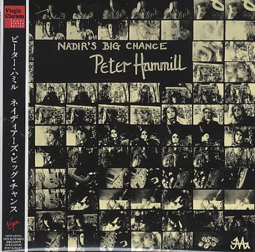 Peter Hammill Nadir's Big Chance CD album (CDLP) Japanese HMLCDNA396042