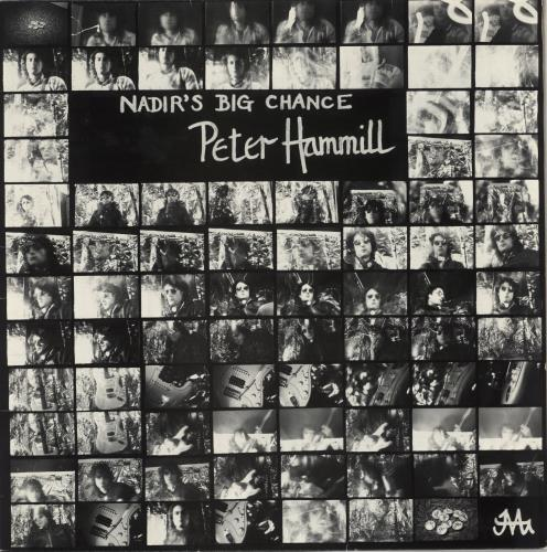 Peter Hammill Nadir's Big Chance vinyl LP album (LP record) Dutch HMLLPNA721407