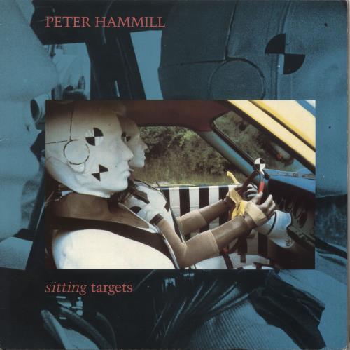 Peter Hammill Sitting Targets vinyl LP album (LP record) UK HMLLPSI472463