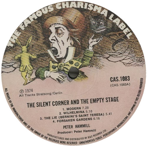 Peter Hammill The Silent Corner & The Empty Stage - VG vinyl LP album (LP record) UK HMLLPTH586986