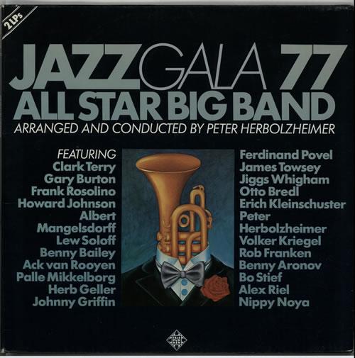 Peter Herbolzheimer Jazz Gala 77 All Star Big Band 2-LP vinyl record set (Double Album) German PHH2LJA633694