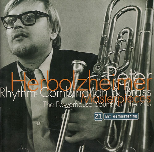 Peter Herbolzheimer Rhythm Combination & Brass CD album (CDLP) German PHHCDRH487978