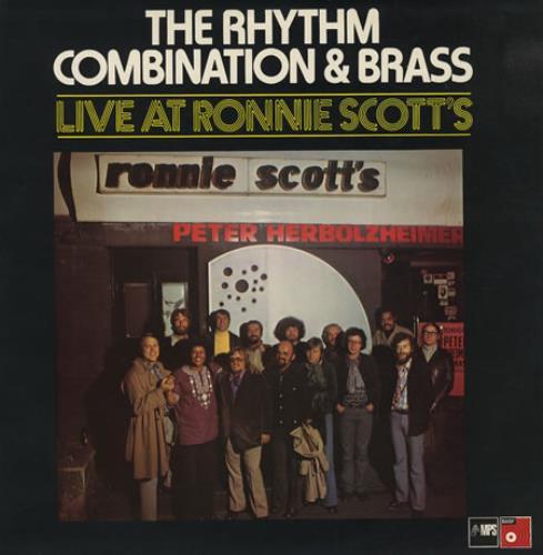 Peter Herbolzheimer The Rhythm Combination & Brass Live At Ronnie Scotts vinyl LP album (LP record) UK PHHLPTH410205