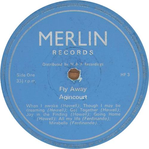 Peter Howell & John Ferdinando Fly Away - 1st vinyl LP album (LP record) UK QG4LPFL694001