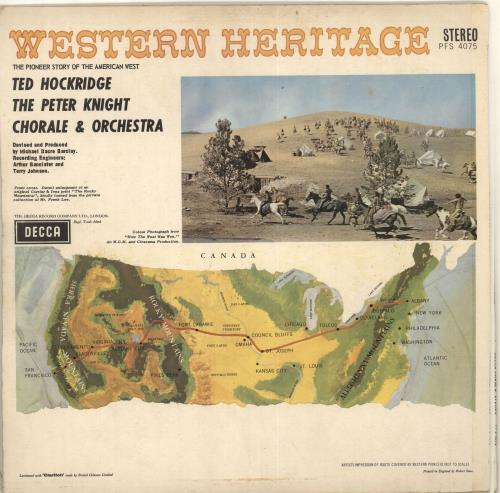 Peter Knight Western Heritage vinyl LP album (LP record) UK PK0LPWE714280