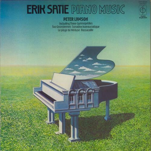 Peter Lawson Erik Satie Piano Music vinyl LP album (LP record) UK P-5LPER634476