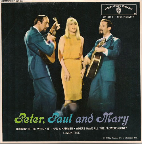 Peter Paul Amp Mary Peter Paul And Mary Ep Uk 7 Quot Vinyl