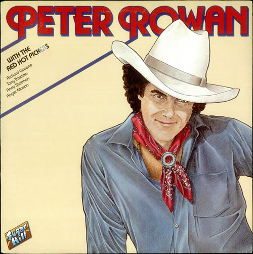 Peter Rowan Peter Rowan With The Red Hot Pickers vinyl LP album (LP record) Canadian PX7LPPE523966