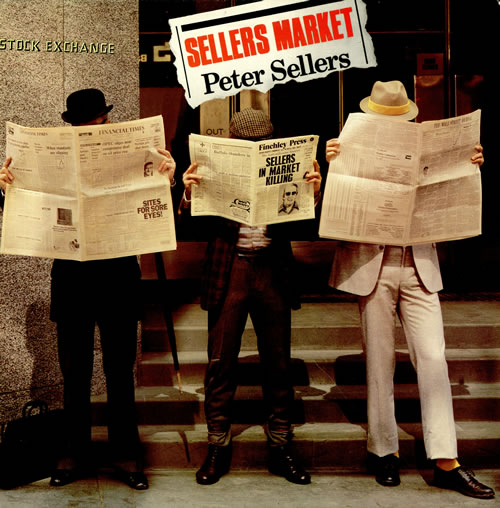 Peter Sellers Sellers Market vinyl LP album (LP record) UK PTELPSE458424