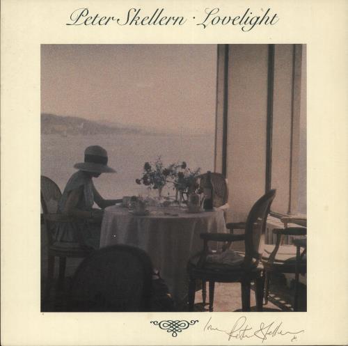 Peter Skellern Lovelight - Autographed vinyl LP album (LP record) UK RSKLPLO717172