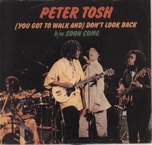"""Peter Tosh (You Got To Walk And) Don't Look Back - P/S 7"""" vinyl single (7 inch record) US TOS07YO719406"""