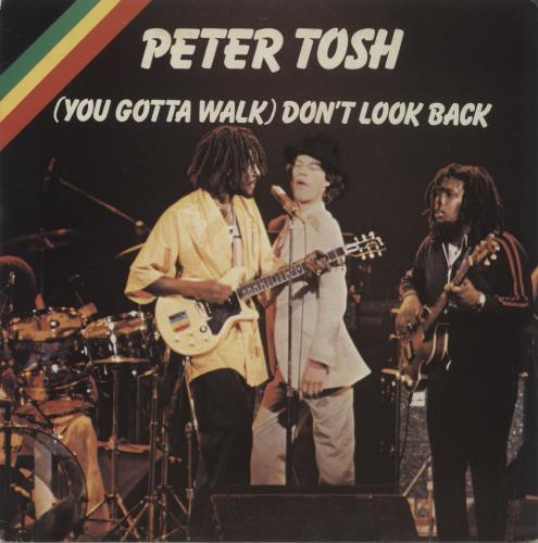 "Peter Tosh (You Gotta Walk) Don't Look Back - P/S 7"" vinyl single (7 inch record) UK TOS07YO141827"